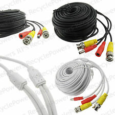 20m 64FT Cable BNC DC power camera video 5.5mm CCTV Security System Surveillance