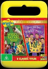 THE WIGGLES Wiggly Safari / Hoop Dee Doo It's a Wiggly Party : NEW DVD
