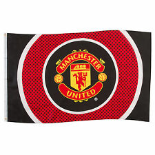 Manchester United FC Official Football Gift 5x3ft Striped Body Flag