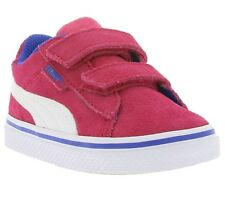 NEW PUMA 1948 Vulc V Kids Shoes Children Trainers Pink 359836 04 SALE