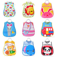 Baby Boy Girl Kids Bibs Waterproof Saliva Towel Cartoon Bib Feeding Bandana SDFG