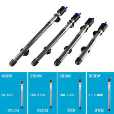 100W 200W 300W 500W Aquarium Mini Submersible Fish Tank Adjustable Water Heater