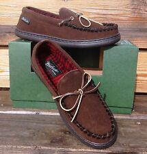 NIB  WOOLRICH  Potter County Moccasin MENS COMFORT  SLIPPERS MANY SIZES AVAL.
