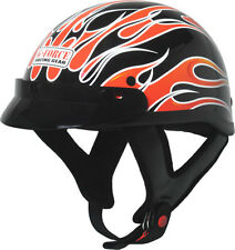 G-FORCE Racing Gear X4 Model Open Face Motorcycle DOT Rated Helmet with Graphics