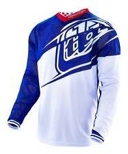 NEW 2016 TROY LEE DESIGNS GP AIR FLEXION MX JERSEY NAVY/ WHITE ALL SIZES