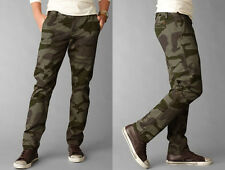 Dockers Pants Slim Fit Alpha Khaki Camo tapered olive cotton CHINOS MEN 32 30