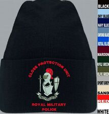 PROTEGIMUS ROYAL MILITARY POLICE CP CLOSE PROTECTION UNIT BEANIE KIT BAG JACKET