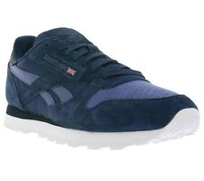 NEW Reebok Classic CL Leather NP Shoes Men's Sneakers Sneakers Blue V70835