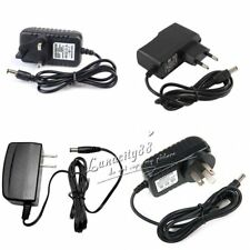 AU 1A 12W Switching Power Supply 12V Adapter Input AC100-240V AC/DC Plug 5.5mm