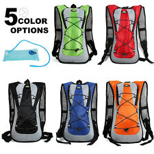Pro 2L Hydration Packs Water Bag Or 5L Backpack Bladder Hiking Climbing Camping