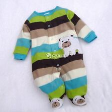 Cute Newborn Baby Girl Boy Clothes One-Pieces Rompers Overalls 3-12 Months DZ88