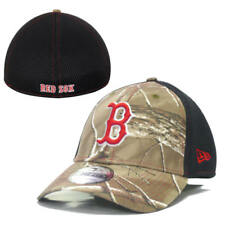 Boston Red Sox New Era 3930 Realtree Woodland Camo Men's Flex-Fit Stretch Hat