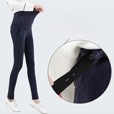 Fad Pregnant Women Skinny Maternity Trousers Cowboy Pencil Abdominal Jeans Pants