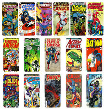 DC Marvel Comic Book Flip Case Cover for Apple iPhone 4 4s 5 5s 6 Plus - 07