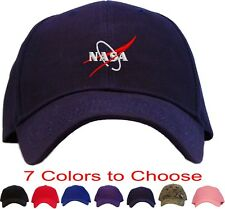 Nasa Vector Wing Logo Embroidered Baseball Cap - Available in 7 Colors - Hat