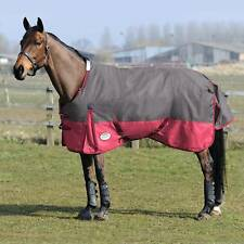 Weatherbeeta Horse Waterproof Turnout Blanket 1200D Navy Blue Red Sheet 78 81 80