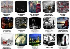 London Capital City Design Table Lamp Shades Or Ceiling Light Shades Lampshades