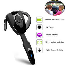 V4.0 Wireless Stereo Bluetooth Headset Earphone Earpiece For iphone SmartPhone