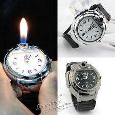 Men Military Lighter Butane Gas Cigarette Cigar Lighters Refillable Wristwatches