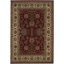 RUGS AREA RUGS CARPET CLEARANCE AREA RUG SALE DECOR TRADITIONAL RED RUGS NEW