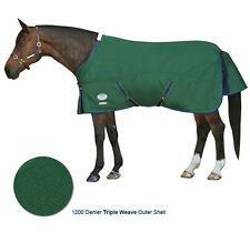 Weatherbeeta Horse Waterproof Winter Turnout Blanket 1200D 84 86 87 Green Blue