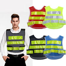 Safety Security High Visibility Reflective Vest Construction Traffic/Warehouse