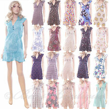 New Cotton Summer Dress Ladies Various Styles Size 8 10 12 14 16 New Pretty