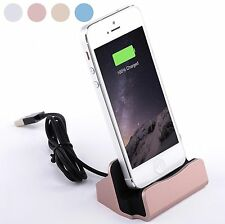 NEW USB Charging Dock Cradle Sync Data Base Charger For Apple iPhone 6 6 Plus 5s