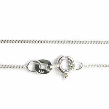 """925 Solid Sterling Silver Link Giotto Chain Necklace 16""""/ 18""""/20"""" for Pendant"""