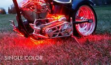 LED Motorcycle Light Kit, 54 LEDs, Super Bright w/ Remote, Select Your Color