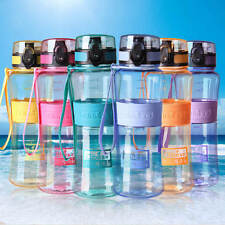 500ml Outdoor Sport Travel Camping Gym School Water Bottle Carry Strap BPA Free