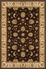 RUGS AREA RUGS CARPET NEW AREA RUG PERSIAN TRADITIONAL ORIENTAL RUG BROWN RUGS