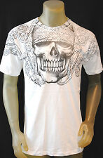 NEW ARCHAIC by AFFLICTION IRR mens SKULL  graphic tshirt  SIZE : 2XLARGE