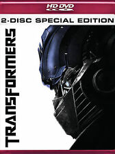 Transformers (HD DVD, 2007, 2-Disc Set, Special Edition)
