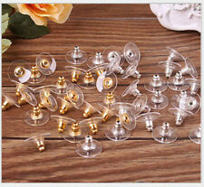 50pcs one pack Earring Backs Stoppers Findings Ear Post Nuts Jewelry Findings