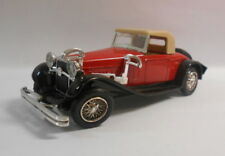 Eligor 1/43 Scale Diecast Model 0222 DELAGE D8S CABRIOLET 1932 RED