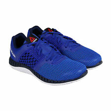 Reebok Reebok Zprint Run Mens Blue Mesh Athletic Training Shoes