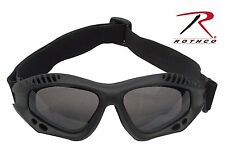 Rothco 11377 ANSI Rated Tactical Goggles - Black