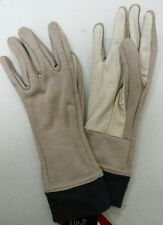 US MILITARY FLAME FIRE RESISTANT VIGIL GLOVES MASSIF NOMEX TAN/TAN NWT VAR SIZES
