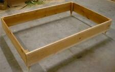 NEW 4X6 CEDAR RAISED PLANTER ELEVATED FLOWER BED GARDEN NEARLY 6 INCHES TALL