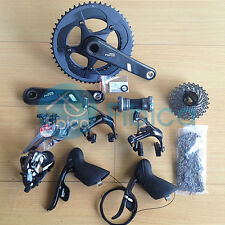 New 2014 SRAM Force 22 11-speed Road Full Carbon Fiber Groupset Group GXP/BB30