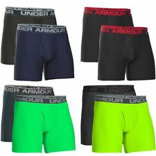 "Pack of 2"" Under Armour 2016 UA Mens 6"" Original BoxerJock Briefs Underwear"