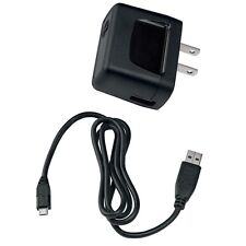 OEM TRAVEL HOME WALL CHARGER AC POWER ADAPTER USB CABLE for BOOST VIRGIN MOBILE