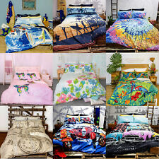Vintage Quilt Doona Duvet Cover Set by Retro Home - SINGLE DOUBLE QUEEN KING