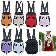 Nylon Pet Dog Cat Carrier Backpack Comfort Travel Front Shoulder Tote Net Bag