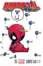 DEADPOOL #1 SKOTTIE YOUNG BABY VARIANT COVER MARVEL NOW SCREW BALL X-MEN NEW