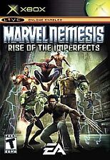 Marvel Nemesis: Rise of the Imperfects (Microsoft Xbox, 2005) *USED*
