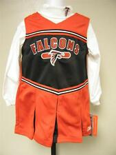 New Atlanta Falcons Toddler Girls sizes 2T-3T Cheerleader Outfit by Reebok