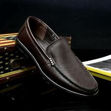 Fashion mens dress oxford comfortable slip on loafer driving shoes us 6.5-10