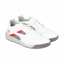 Puma Podio SF Mens White Synthetic Lace Up Sneakers Shoes